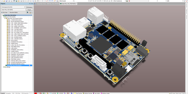 Pcb design buil printed circuit board development